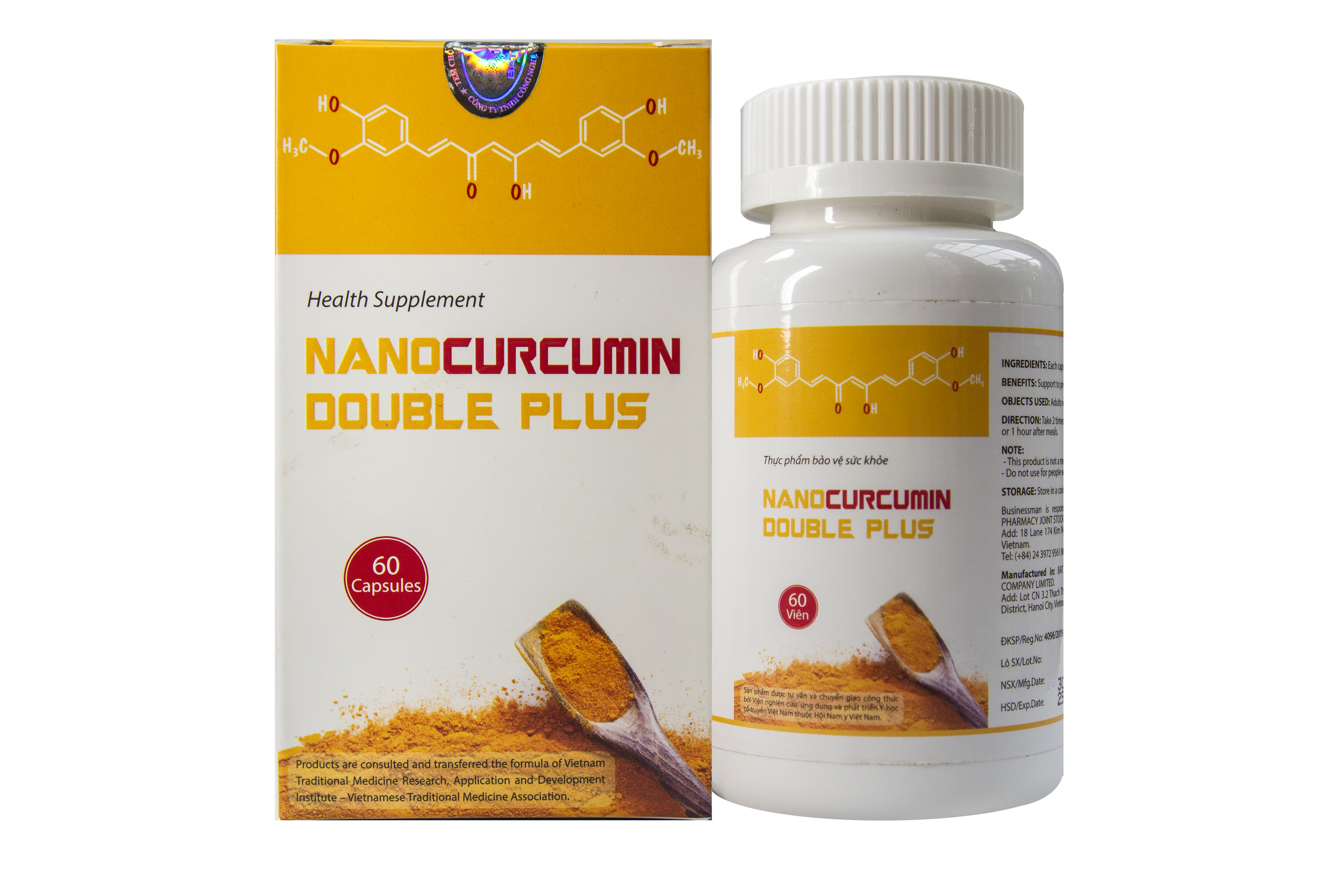 TPBVSk - Nanocurcumin Double Plus